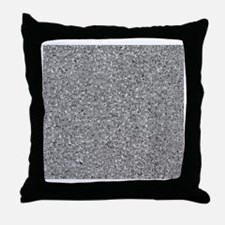 faces all over Throw Pillow