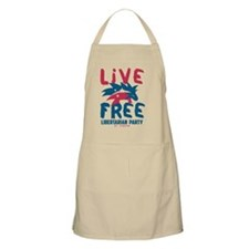 Live Free Porcupine Apron