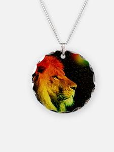 Rasta Lion  Necklace