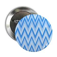 "3 Tone blue Chevrons 2 2.25"" Button"