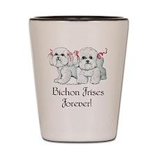Bichon Frise Forever Shot Glass