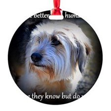 Dogs are better... Ornament