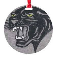 Panther Print Ornament