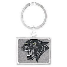 Panther Print Landscape Keychain
