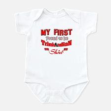 Trinidadian baby shirts Infant Bodysuit