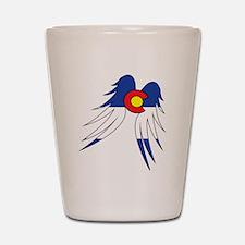 Colorado Wings Shot Glass