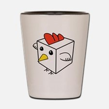 Cock Block Shot Glass