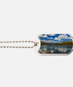 Alpine Lake on the Continental Divide Dog Tags
