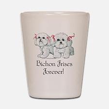 BICHON FRISE Shot Glass