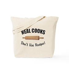 Recipes & Real Cooks Tote Bag
