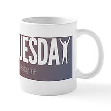 NakedTuesday.me Craig Silhouette Bumper Mug