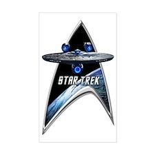 StarTrek Command Silver Signia Decal