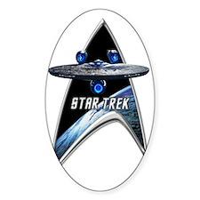 StarTrek Command Silver Signia Ente Decal
