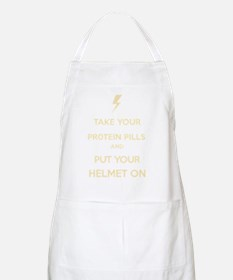 Put Your Helmet On Apron