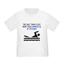 Swimming Grandma T-Shirt
