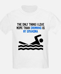 Swimming Grandma T-Shirt