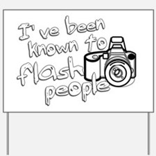 flashpeople Yard Sign