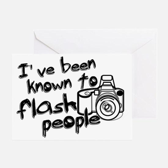 flashpeople Greeting Card