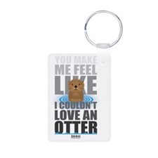 Love an Otter Keychains