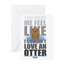 Love an Otter Greeting Card