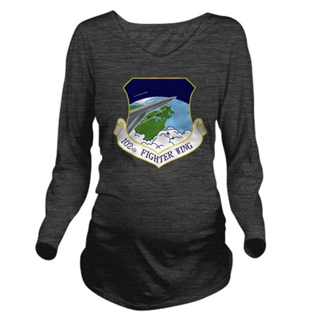 102nd FW Long Sleeve Maternity T-Shirt