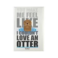 Love an Otter Rectangle Magnet