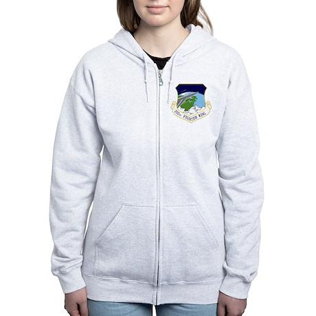 102nd FW Women's Zip Hoodie