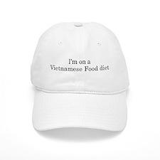 Vietnamese Food diet Baseball Cap