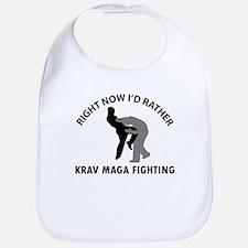 Krav maga fighting designs Bib