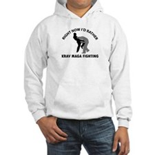 Krav maga fighting designs Hoodie