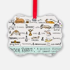 Rescue Rabbits Ornament
