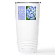 Happy Nurses Day With B Travel Mug
