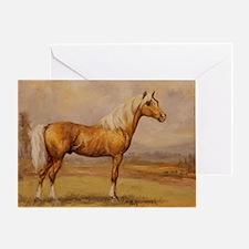 Palomino Horse Greeting Card