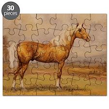 Palomino Horse Puzzle