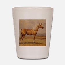 Palomino Horse Shot Glass