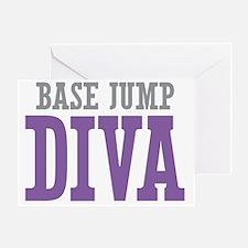 BASE Jump DIVA Greeting Card