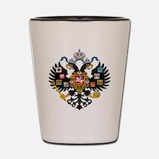 Romanov Crest Shot Glass