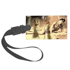 Mata Hari Collage Luggage Tag