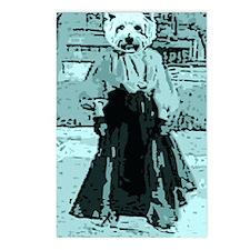 Yorkie Gal Postcards (Package of 8)