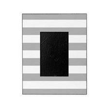 Stripes 1 5x7 W Lt Gray Picture Frame