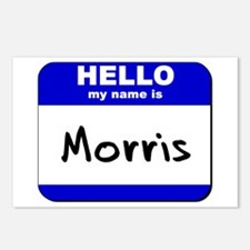 hello my name is morris  Postcards (Package of 8)
