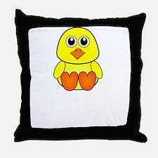 Lake Chick Throw Pillow