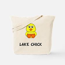 Lake Chick Tote Bag
