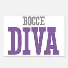 Bocce DIVA Postcards (Package of 8)