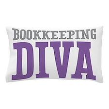 Bookkeeping DIVA Pillow Case