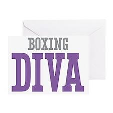 Boxing DIVA Greeting Card
