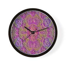 Bouquet B Wall Clock