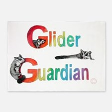 Glider Guardian  5'x7'Area Rug