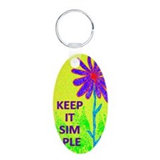 Wildflower Keep It Simple Keychains