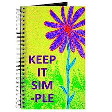 Wildflower Keep It Simple Journal